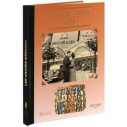 Livre les années mémoire de 1939