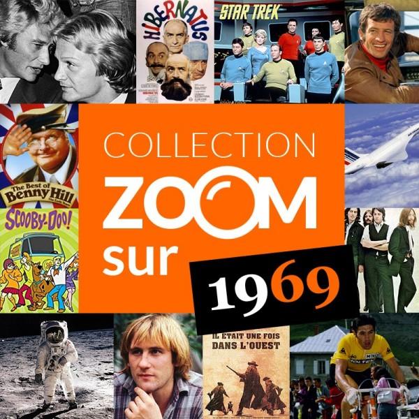 Collection Zoom sur...1969 disponible chez Journal de naissance