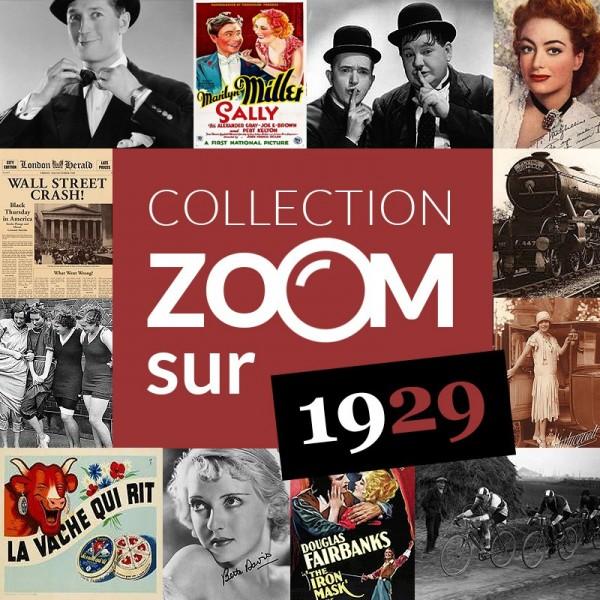 Collection zoom sur 1929 disponible chez Journal de Naissance
