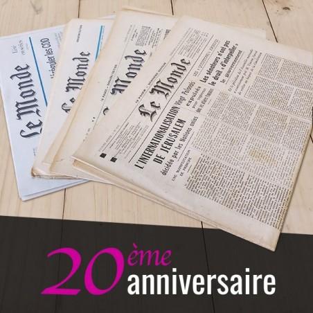 Journal des 20 ans